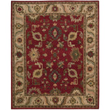 TA08 Red-Traditional-Area Rugs Weaver
