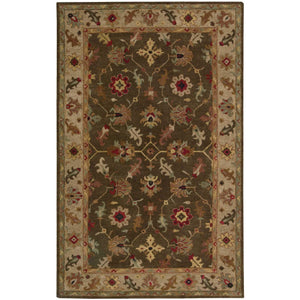 TA10 Brown-Traditional-Area Rugs Weaver