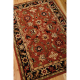 TA12 Red-Traditional-Area Rugs Weaver