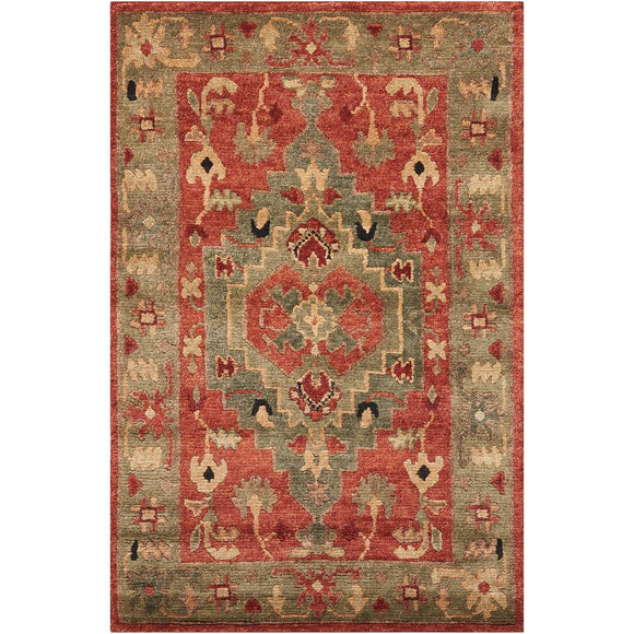 TA01 Red-Traditional-Area Rugs Weaver