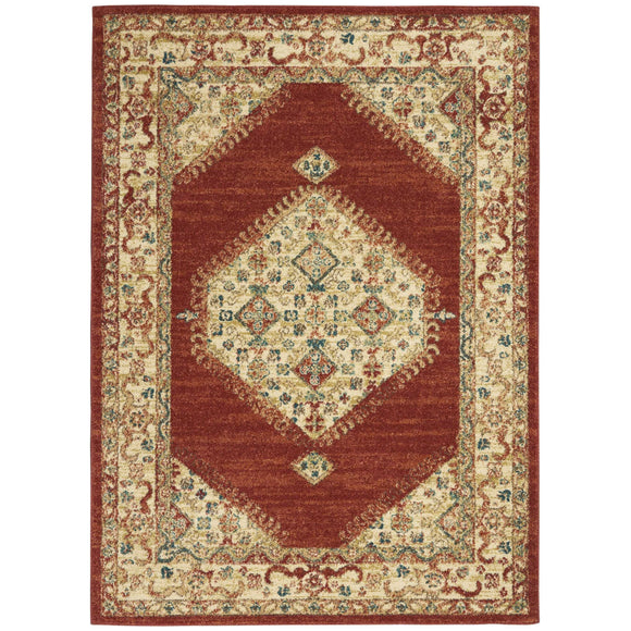 TRQ03 Red-Vintage-Area Rugs Weaver