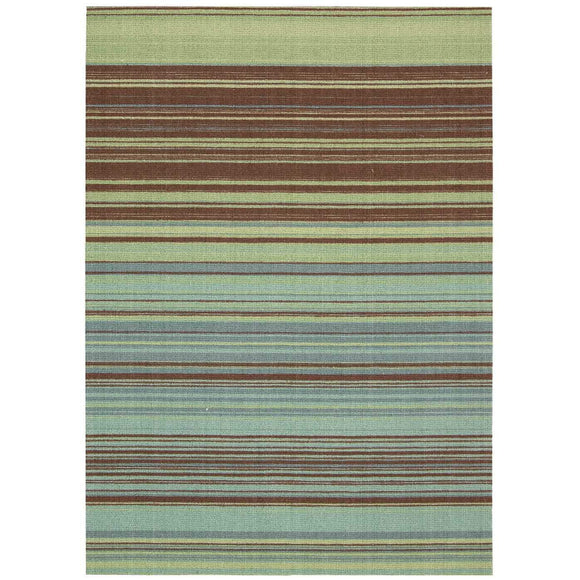 VIS10 Blue-Transitional-Area Rugs Weaver