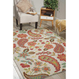 VIS06 Ivory-Casual-Area Rugs Weaver