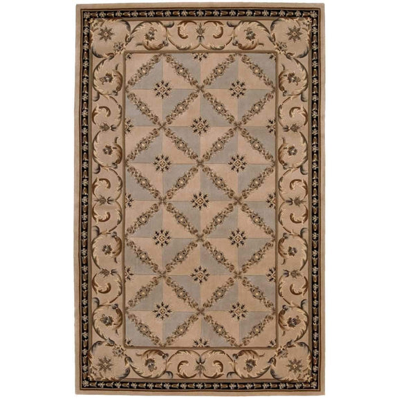 VP06 Beige-Traditional-Area Rugs Weaver