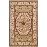 VP10 Beige-Traditional-Area Rugs Weaver