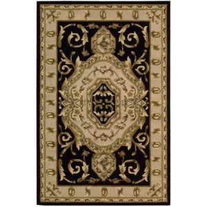 VP14 Black-Traditional-Area Rugs Weaver