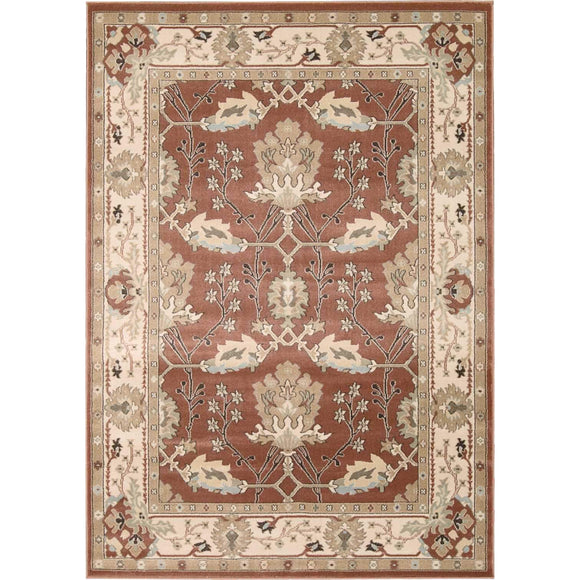 WAL04 Brown-Traditional-Area Rugs Weaver
