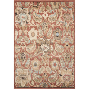WAL02 Brown-Transitional-Area Rugs Weaver