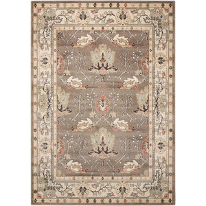 WAL04 Grey-Traditional-Area Rugs Weaver