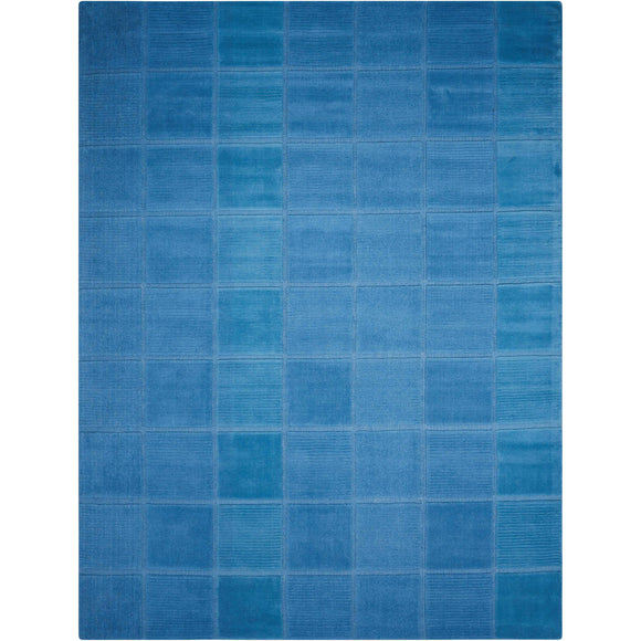 WP31 Blue-Casual-Area Rugs Weaver