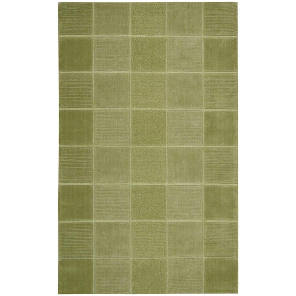 WP31 Green-Casual-Area Rugs Weaver