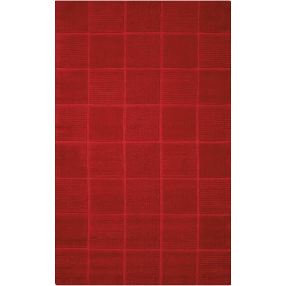 WP31 Red-Casual-Area Rugs Weaver