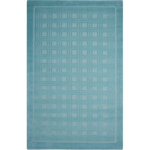 WP32 Aqua-Casual-Area Rugs Weaver