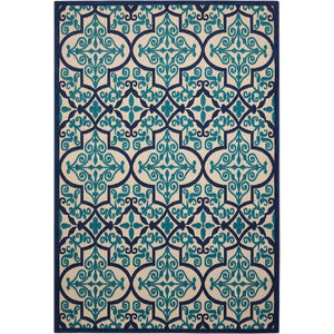 ALH14 Navy-Outdoor-Area Rugs Weaver