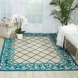 ALH16 Aqua-Outdoor-Area Rugs Weaver