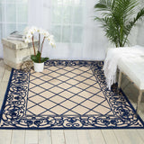 ALH16 Navy-Outdoor-Area Rugs Weaver
