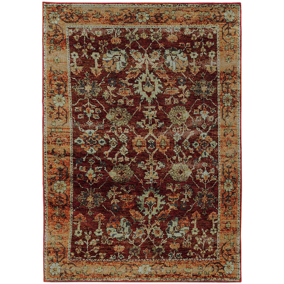 ANR 7154A-Casual-Area Rugs Weaver