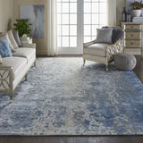 PRS17 Blue-Modern-Area Rugs Weaver