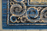 DYN06 Blue-Traditional-Area Rugs Weaver