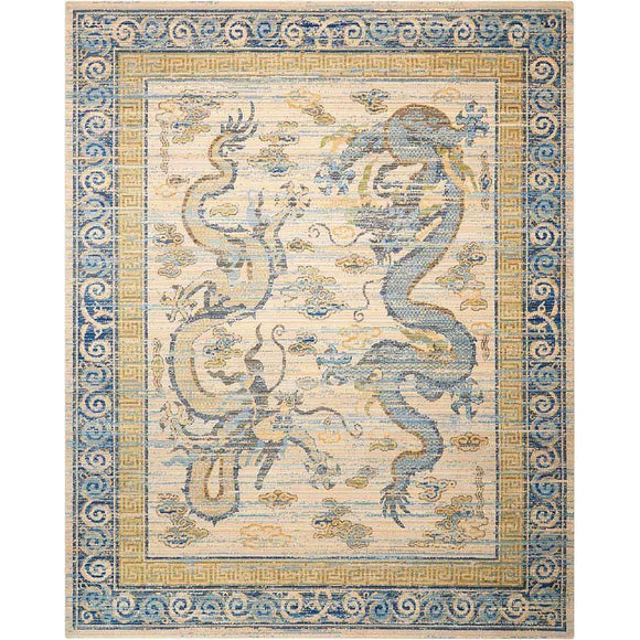 DYN06 Ivory-Traditional-Area Rugs Weaver