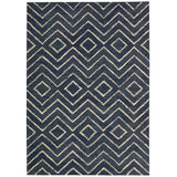 INT04 Blue-Casual-Area Rugs Weaver