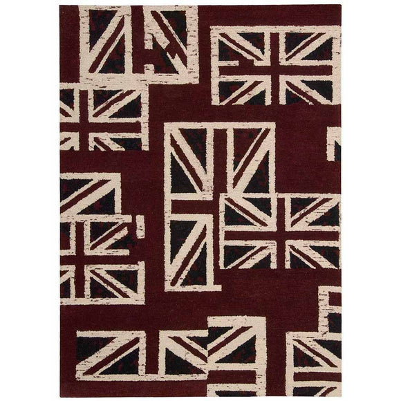 INT05 Brown-Casual-Area Rugs Weaver