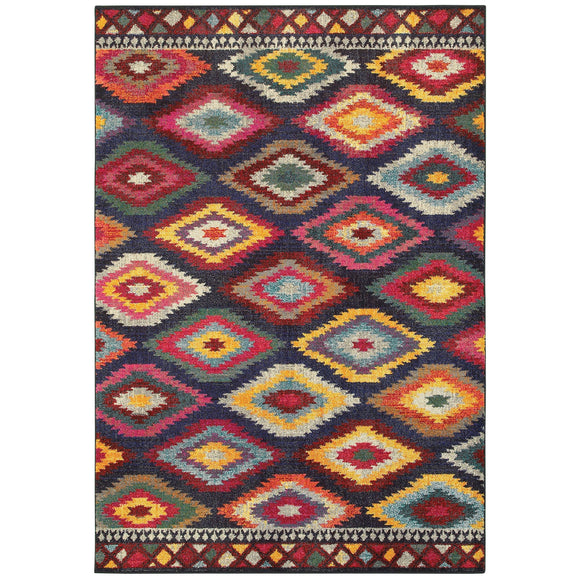 BOH 668N5-Casual-Area Rugs Weaver