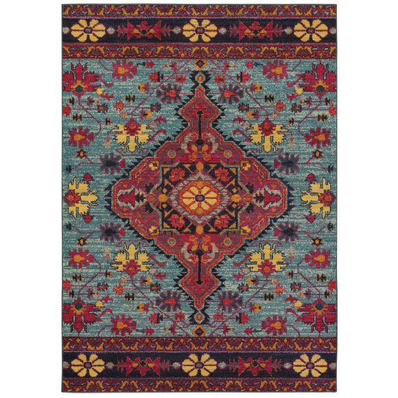 BOH 8222L-Traditional-Area Rugs Weaver