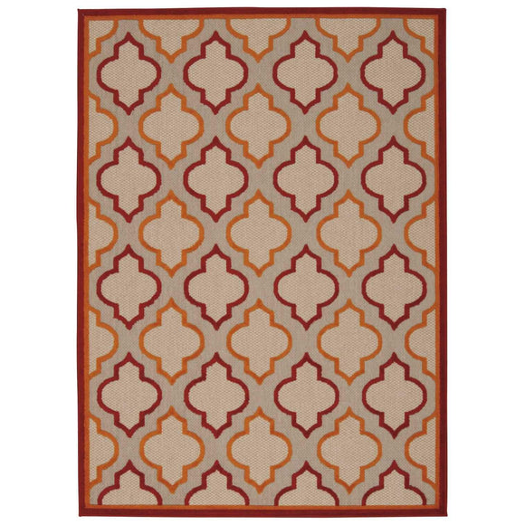 ALH06 Red-Traditional-Area Rugs Weaver