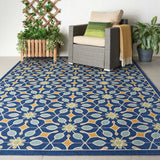 CRB07 Navy-Outdoor-Area Rugs Weaver
