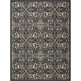 CRB12 Charcoal-Outdoor-Area Rugs Weaver