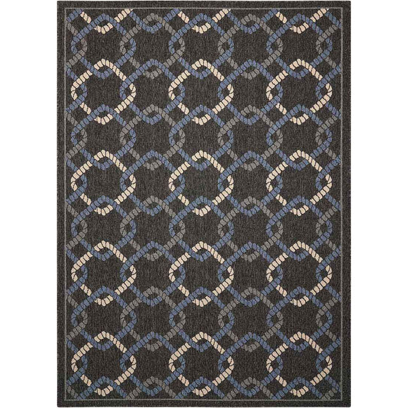 CRB16 Charcoal-Outdoor-Area Rugs Weaver