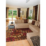 CON02 Brown-Transitional-Area Rugs Weaver