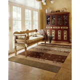 CON10 Multi-Patchwork-Area Rugs Weaver