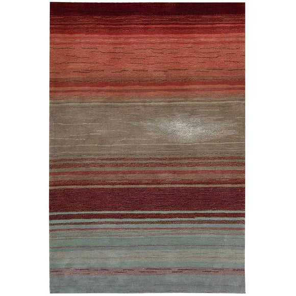 CON15 Red-Casual-Area Rugs Weaver