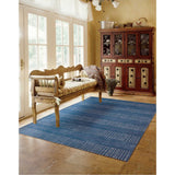 CON22 Blue-Casual-Area Rugs Weaver
