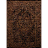 DEL07 Brown-Vintage-Area Rugs Weaver