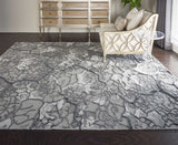 DIV01 Charcoal-Modern-Area Rugs Weaver