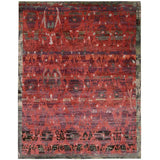DUN02 Red-Vintage-Area Rugs Weaver