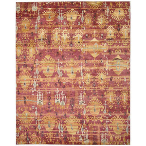 DUN05 Red-Vintage-Area Rugs Weaver