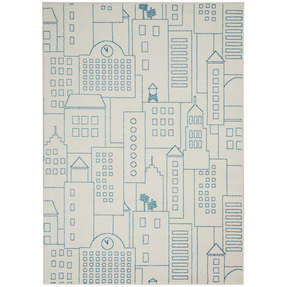 DS202 Ivory-Kids-Area Rugs Weaver