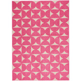 DS301 Pink-Kids-Area Rugs Weaver