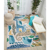 DS400 Blue-Kids-Area Rugs Weaver
