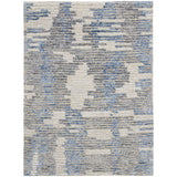 ELL01 Blue-Modern-Area Rugs Weaver