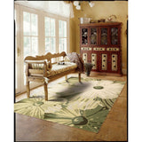 FA19 Green-Transitional-Area Rugs Weaver