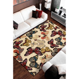 FA20 Beige-Transitional-Area Rugs Weaver