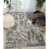 FSS10 Grey-Modern-Area Rugs Weaver