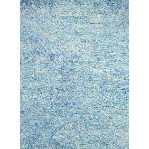 GEM05 Blue-Modern-Area Rugs Weaver