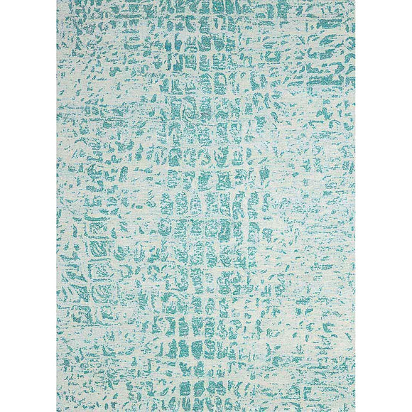GEM06 Turquoise-Modern-Area Rugs Weaver