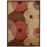 GIL04 Red-Modern-Area Rugs Weaver